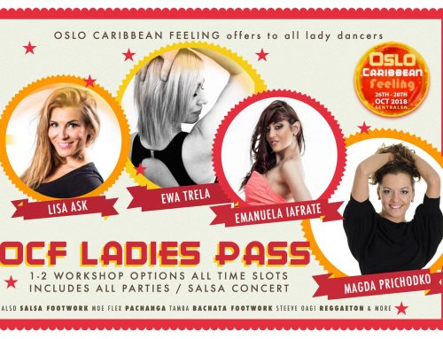 OCF 2018 Ladies Pass!