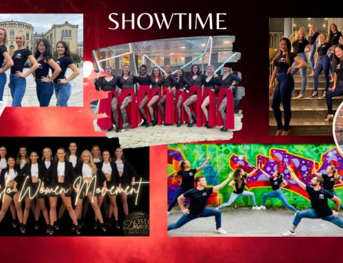 It's showtime!